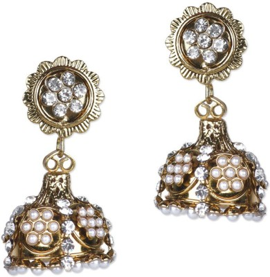 Ambitione Antique Alloy Jhumki Earring