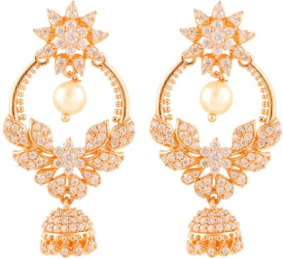 Beautiart BA1_BAEAR1147 Cubic Zirconia Alloy Drop Earring