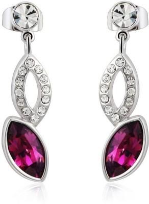 Ouxi Elements Dazzling Crystal Zinc Drop Earring