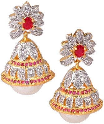 Jewar Mandi Unique Earrings Metal Jhumki Earring