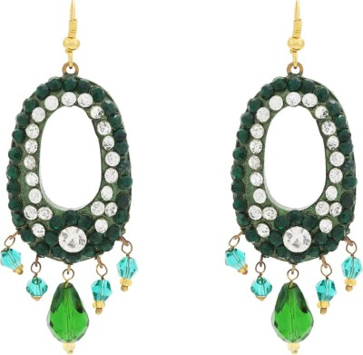 Happy States Uber Green Lac Dangle Earring