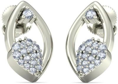 BlueStone The Carols White Gold 18kt Diamond Stud Earring