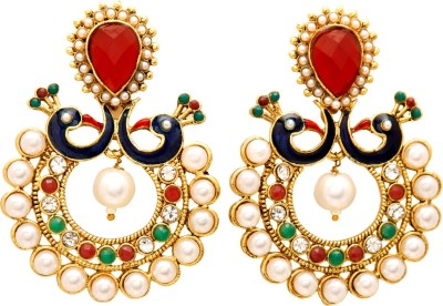 Jewel House Festive Bling Copper Chandbali Earring
