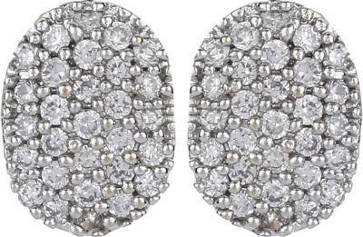 Dilan Jewels Diamante Tops Zircon Alloy Stud Earring