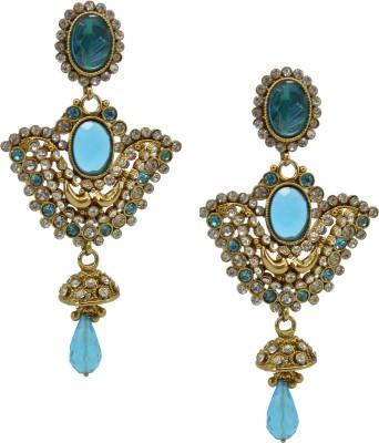 SaloniFashionJewellery Golden Copper, Brass Drop Earring