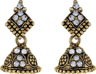 Numaish Desniger Alloy Chandbali Earring