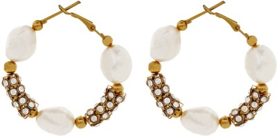 Ambitione Stylish Appeal Alloy Hoop Earring