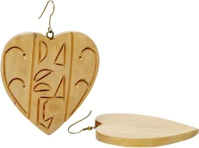 Anmol Anmol-EX-7 Wood Dangle Earring