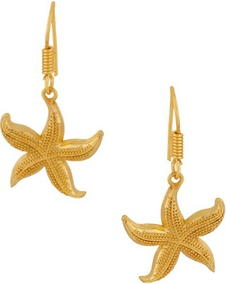 Gemshop ADORABLE PAIR OF STAR FISH DESIGN TONE Alloy Dangle Earring