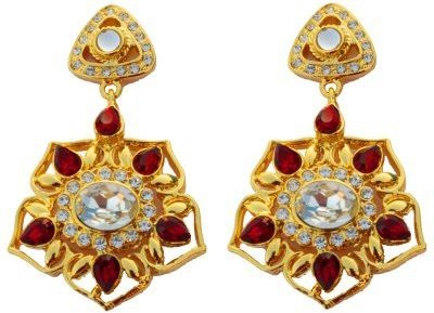 Trisha premium Crystal Alloy Drop Earring