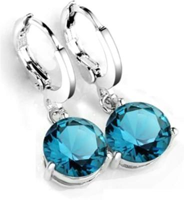 University Trendz Univ _E069 Crystal Alloy Clip-on Earring