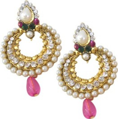 Aza Collections Sparkle Alloy Drop Earring