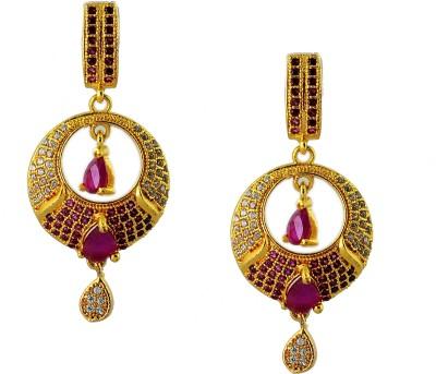 Maalyaa earrings Brass, Copper Drop Earring