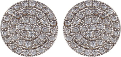 Moda Stella Cluster of Circle Brass Stud Earring