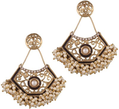 Variation Alloy, Enamel Dangle Earring at flipkart