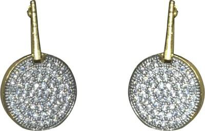 Mini Muskan Cz Earring Cubic Zirconia Brass Stud Earring