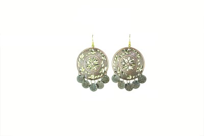 Vanity Roots Tribal Fusion Alloy Drop Earring
