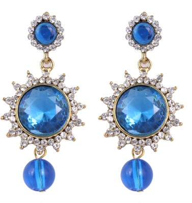 Shopernow Traditional designer ethnic jewels Alloy Hoop Earring