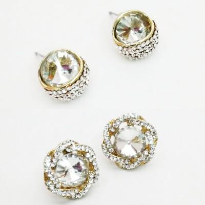 NEHASTORE Combo Offer CB17 Mother of Pearl Alloy Earring Set