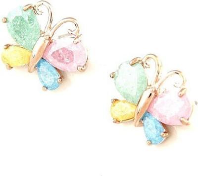 Nexessories Exquisite Butterfly Metal Stud Earring