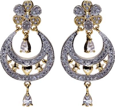 Asset Jewels Sparkle Alloy Chandbali Earring