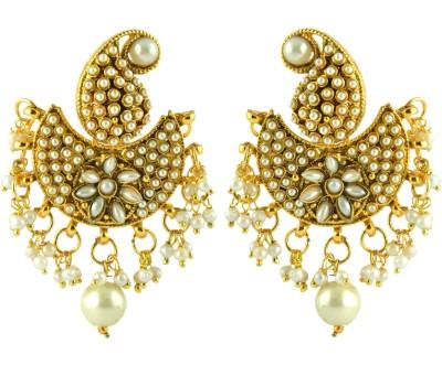 Jyeana Princess Delight Zinc Chandbali Earring