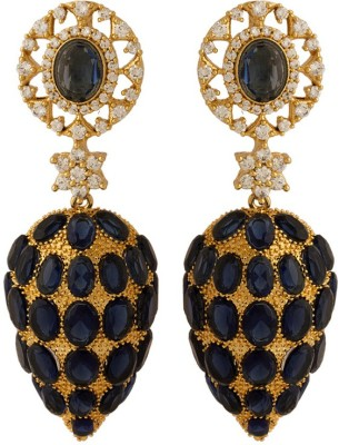 Voylla Artificial Classic Embellished Crystal Alloy Dangle Earring at flipkart