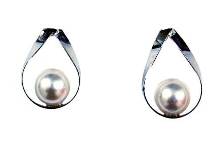 Uzuri Style Diva Copper Stud Earring