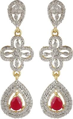 Sans India Shining Diva Zircon Alloy Drop Earring