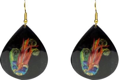 FashBlush Forever New Peacock Inspired Alloy Dangle Earring