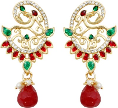SBS Shining Alloy Chandelier Earring