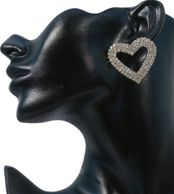 Krazzy Collection Heart Copper Stud Earring