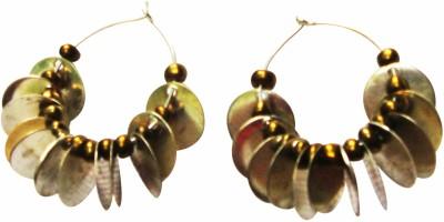 Juhi Malhotra Ceramic Hoop Earring