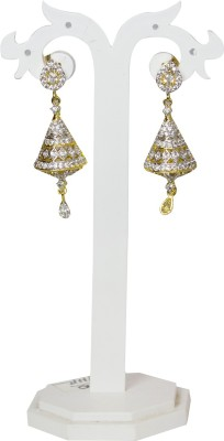 Jewelgrab Sai-Ad-Diamond Alloy Drop Earring