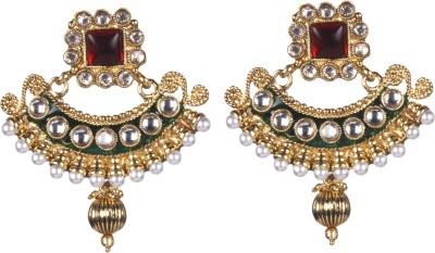 Tatva R1917 Alloy Chandbali Earring