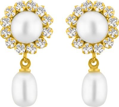 JPearls Pearls Pearl Alloy Drop Earring