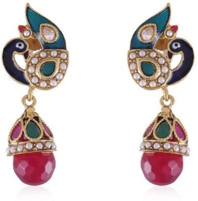 Vastradi Elegant and Exquiste Brass Drop Earring