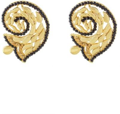 Art Nouveau New Design Wedding WeaR Brass Stud Earring