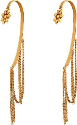 Inaya Designer Copper Dangle Earring