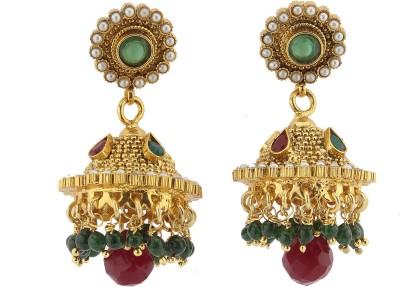 Madhuba Collection Fashion Brass Jhumki Earring