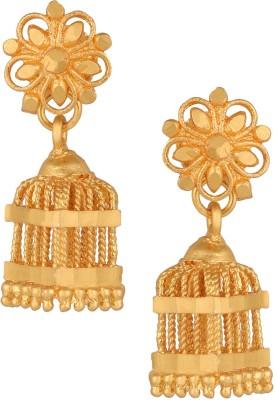 Fashionaya Sqaure Jhumki Brass Jhumki Earring