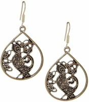 Saffron Craft Silver Collections Alloy Dangle Earring best price on Flipkart @ Rs. 299
