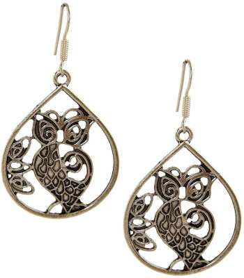 Saffron Craft Silver Collections Alloy Dangle Earring