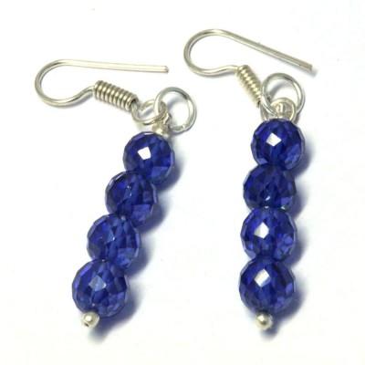 Chouhangems Stylish Fashion Beads Drops Glass Dangle Earring