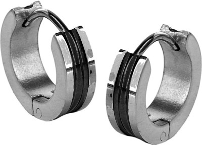 the jewelbox Bali Stainless Steel Hoop Earring