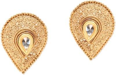 Prita Designer Leaf Shaped Alloy Stud Earring