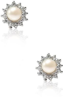 LeCalla JE180217M1RH Sterling Silver Stud Earring