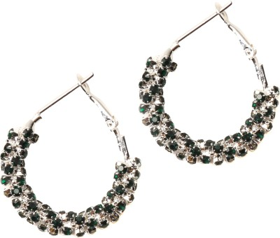 Medallion Collection Balis Brass, Copper Hoop Earring