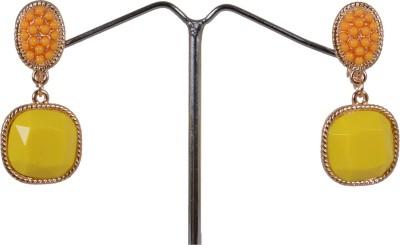 Angelfish fashion designer rhinestone Coral Alloy Dangle Earring