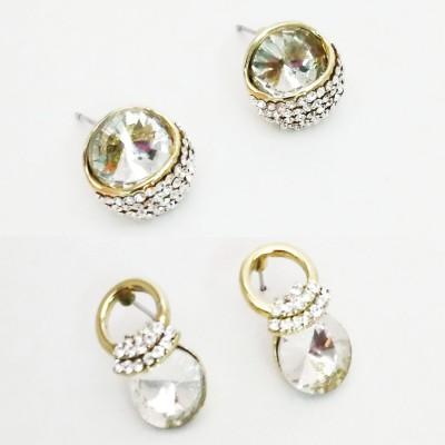 NEHASTORE Combo Offer CB15 Mother of Pearl Alloy Earring Set